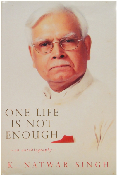 One Life is not Enough: An Autobiography