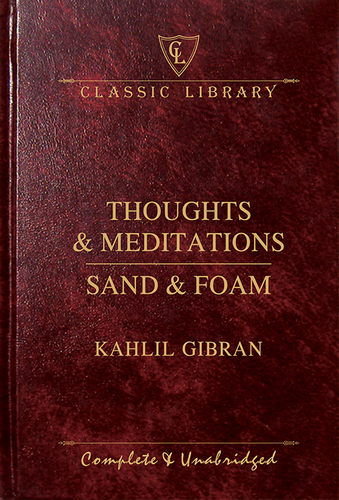 CL:Thoughts & Meditations, Sand & Foam