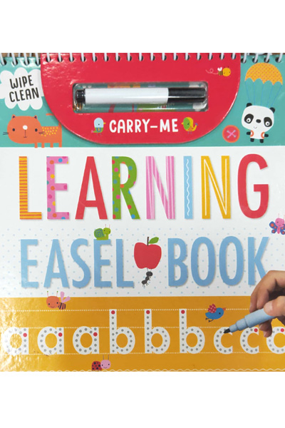 Carry-Me Learning Easel Book (Wipe Clean)