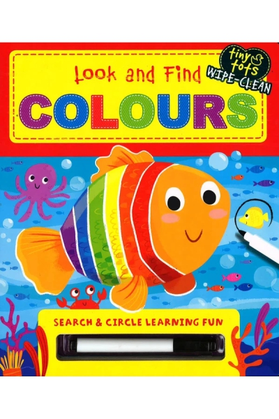 Look and Find: Colours - Board Book
