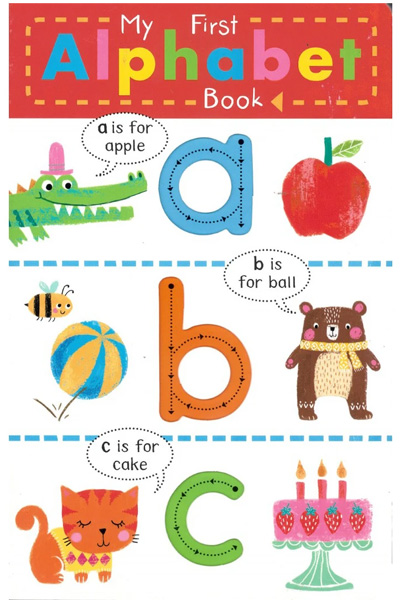My First Alphabet Book (Finger Trace)