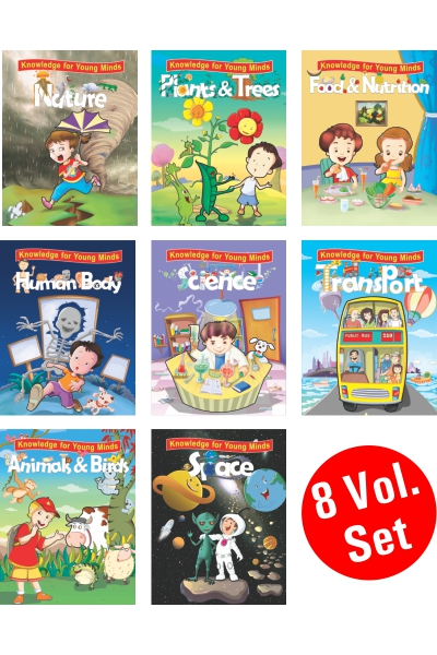 Knowledge for Young Minds Series (8 Vol. set)