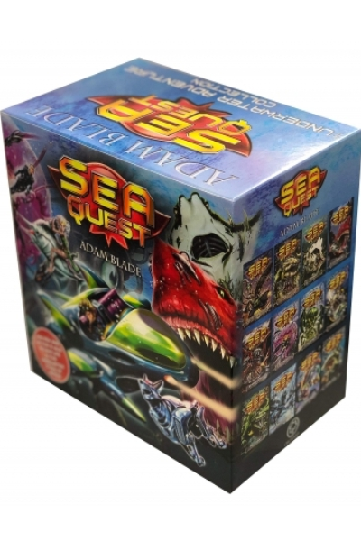 Sea Quest The Underwater Adventure Collection (24 Books Limited Edition Box Set)