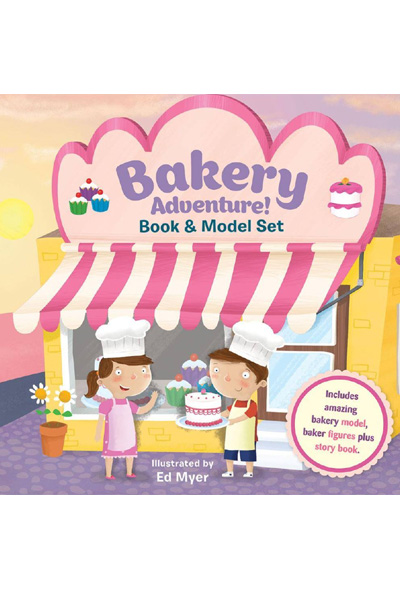 Bakery Adventure! Book & Model Set