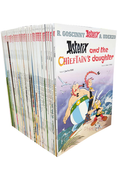 The Complete Asterix Box set (38 titles)