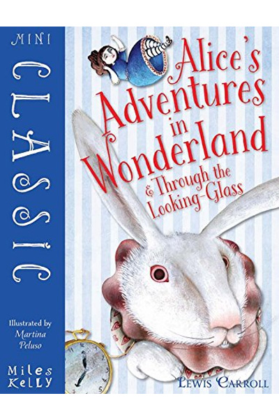 Mini Classic Alice's Adventures in Wonderland & Through the Looking Glass