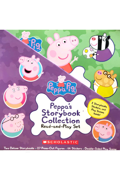 Peppa's Storybook Collection : Read-and-Play Set