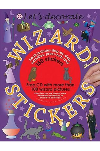 Let's Decorate Wizard Stickers