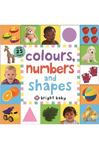 Colours, Numbers and Shapes : Lift the Flap Tab