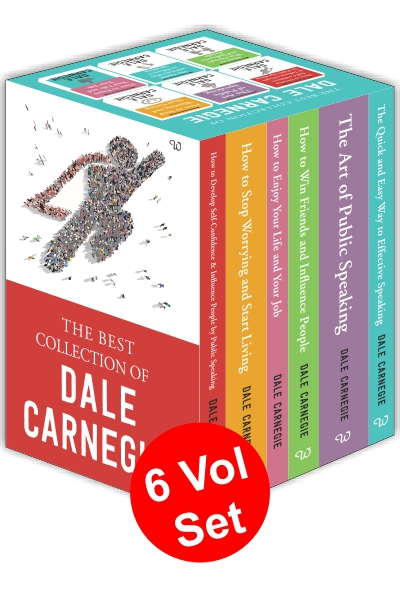 The Best Collection of Dale Carnegie ( 6 Vol Set)