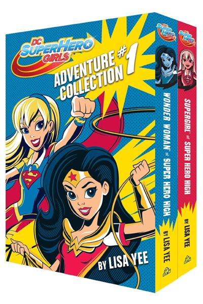The DC Super Hero Girls Adventure Collection #1 (2 Vol.set)