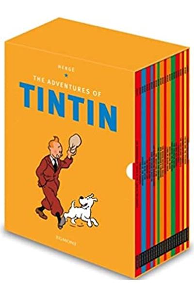 Tintin Paperback Boxed Set (23 titles)