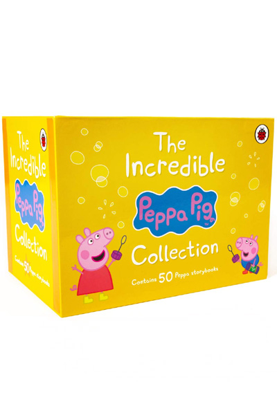 The Incredible Peppa Pig Storybooks Collection (50 Books Box Set)