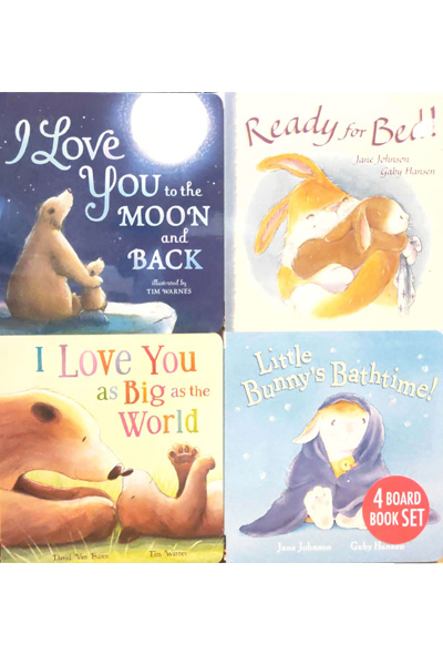 My First Board Book Library 2 (4 Book Set)