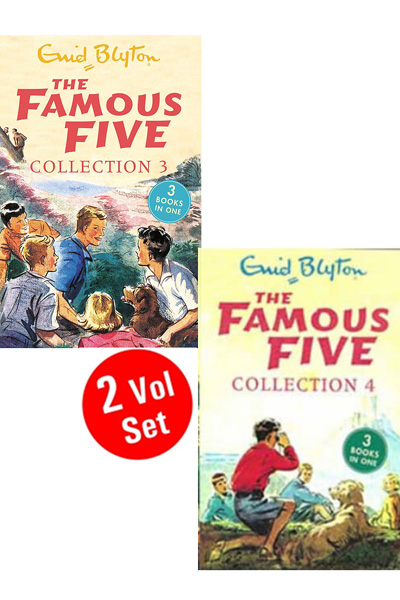 Enid Blyton: Famous Five Collection Series 2 (2 Vol set)