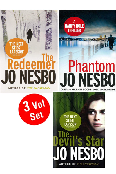 Jo Nesbo Series 1 (3 Vol.set)