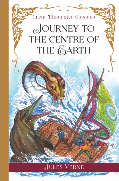 Great Illustrated Classics: Journey To The Centre Of The Earth