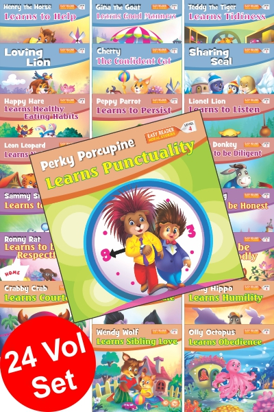 Easy Reader Moral Stories Series (24 Vol.set)
