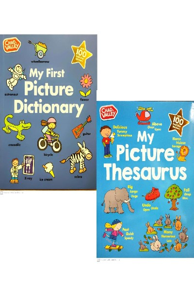 My First Picture Dictionary & My Picture Thesaurus