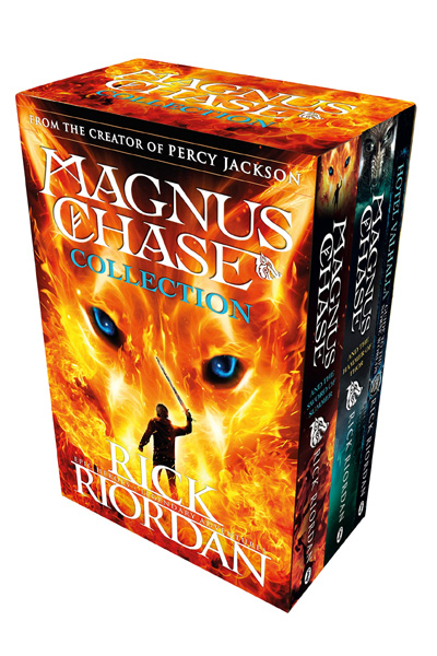 Magnus Chase Collection (3 Vol Box Set)