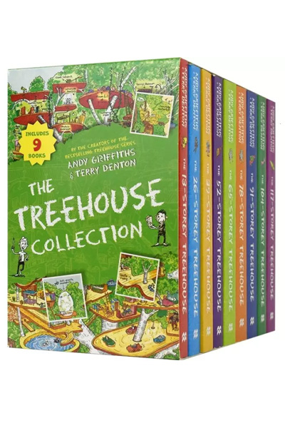 The Treehouse Collection (9 Vol. Box Set)