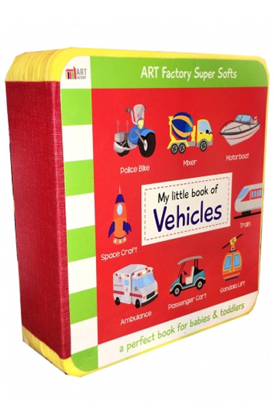My Little Book of Vehicles