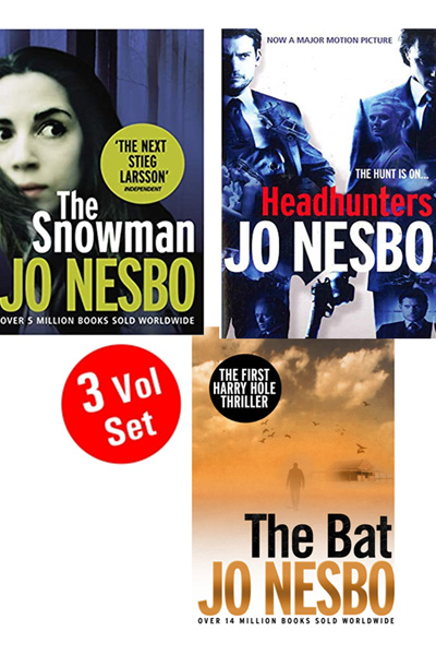 Jo Nesbo Series 2 (3 Vol. set)