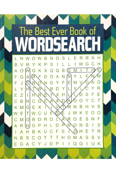 The Best Ever Book of Wordsearch