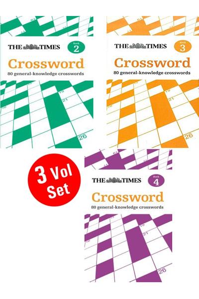 Times Crossword Series (3 Vol.set)