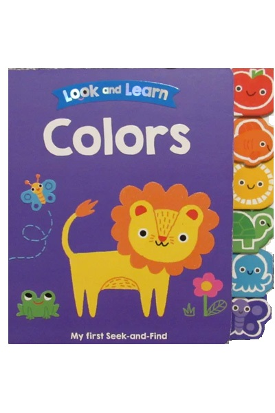 Look and Learn: Board Book : Colors