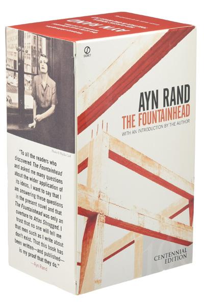 Ayn Rand Box Set : Atlas Shrugged / The Fountainhead