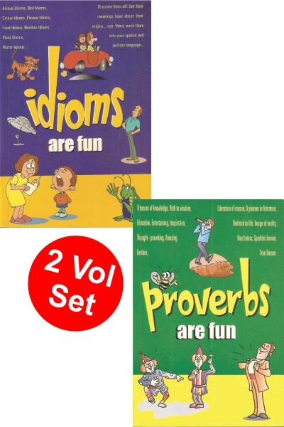 Idioms/Proverbs Are Fun Small (2 Vol. Set)