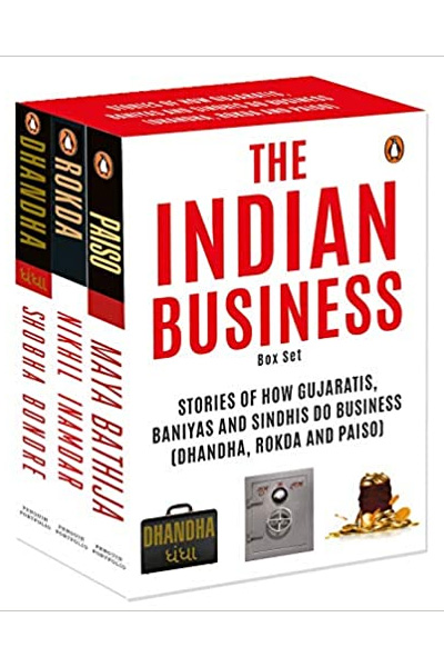 The Indian Business Box Set: Stories of How Gujaratis,  Baniyas & Sindhis Do Business