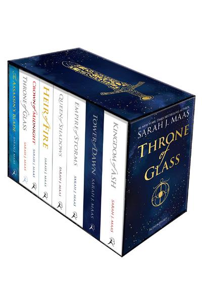 Throne of Glass (8 Vol. set)