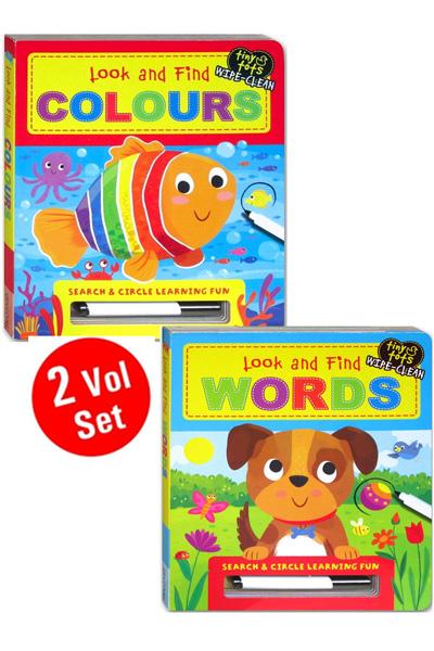Look & Find Board Book Series (2 vol set)