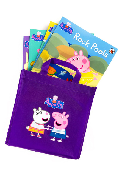 Peppa Pig (Purple Bag: Collection of 10 PB storybooks in fabric bag)