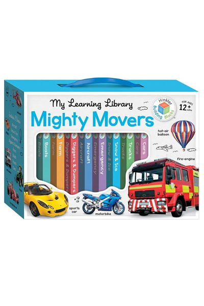 Building Blocks: My Learning Library: Mighty Movers