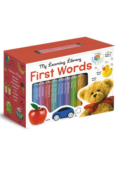 Building Blocks: My Learning Library: First Words