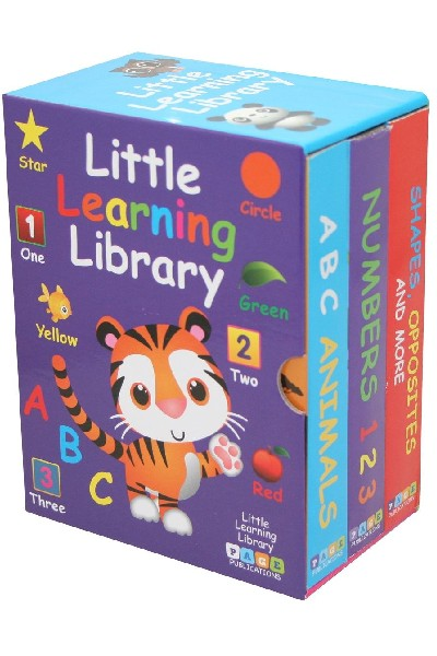 Little Learning Library (3 Board Book Set)