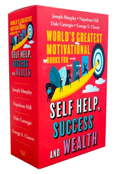 World's Greatest Motivational Books For Self Help, Success & Wealth (Set of 4 Books)