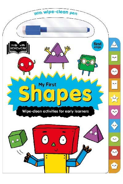 Wipe-Clean: My First Shapes - Board Book