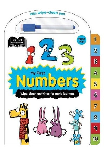 Wipe-Clean: My First Numbers - Board Book