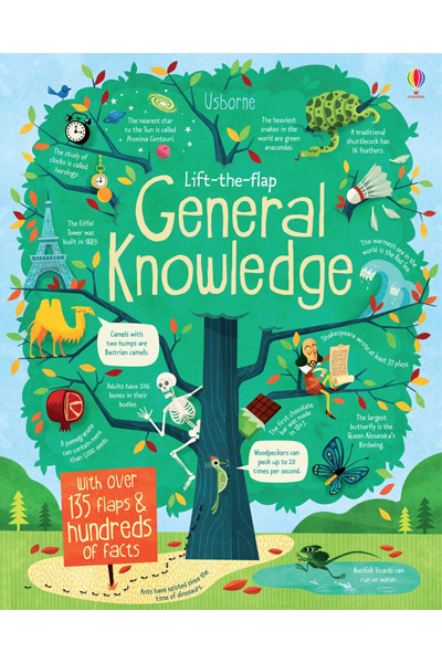Lift-the-Flap : General Knowledge - Board Book