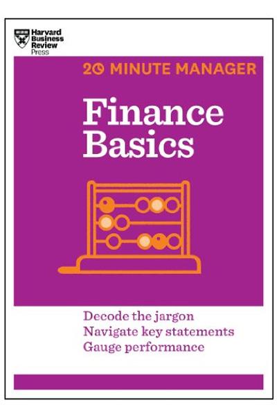 Harvard Business: 20 Minute Manager Finance Basics
