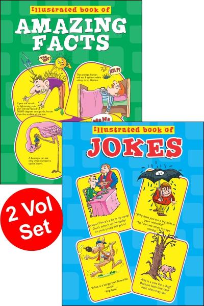 Illustrated Book Of Jokes Series (2 vol set)