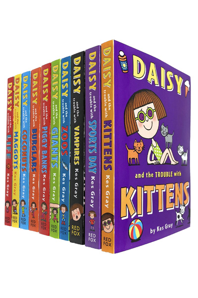 Daisy and The Trouble Collection (10 Books Set)