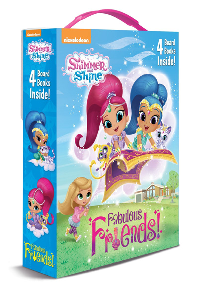 Shimmer and Shine: Fabulous Friends! Board Book