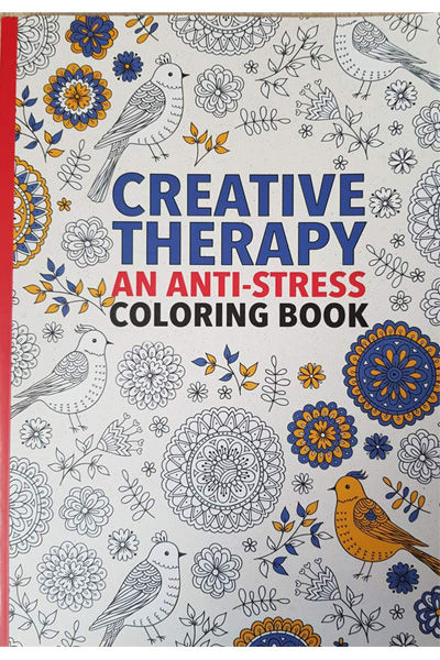 Creative Therapy : An Anti-Stress Coloring Book