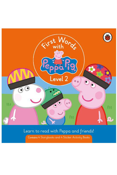 First Words with Peppa : Level 2 Box Set