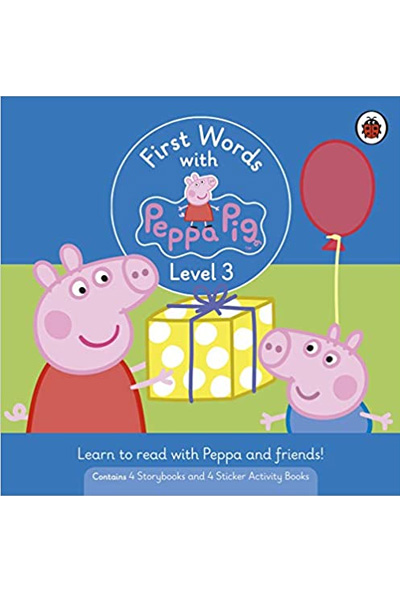 First Words with Peppa : Level 3 Box Set